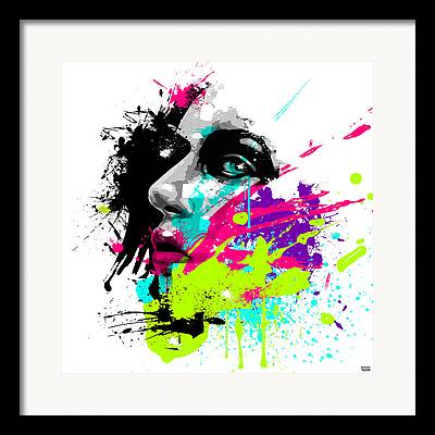 Dripped Framed Prints