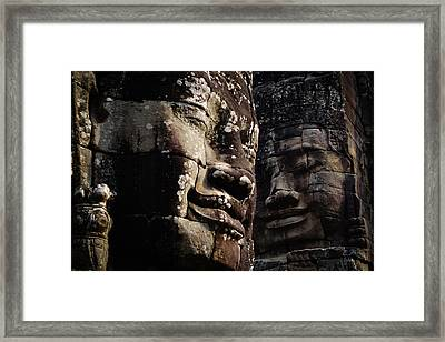 Face The Day Framed Print