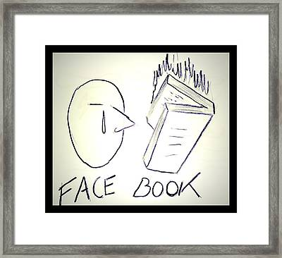 Facebook Framed Print by Beto Machado