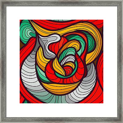 Faces Framed Print by Don Kuing