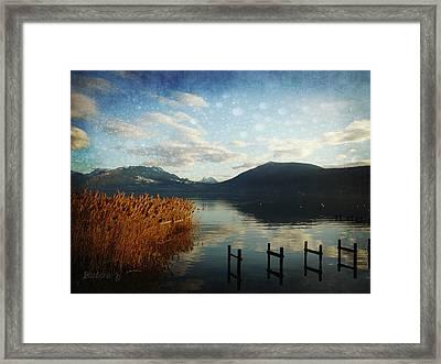 Framed Print featuring the photograph Fairies Lake by Barbara Orenya