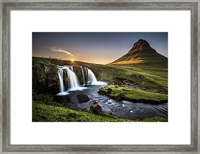 Fairy-tale Country Framed Print by Andreas Wonisch