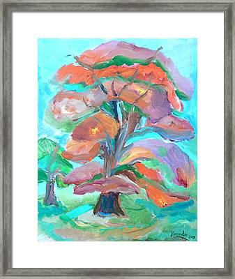 Fall Colors Framed Print by Brenda Ruark