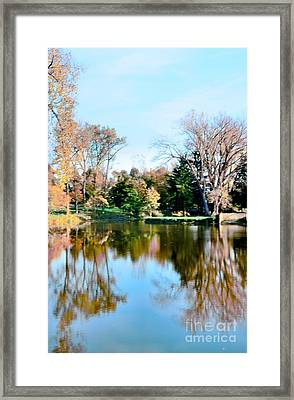 Fall Day Framed Print by Kathleen Struckle