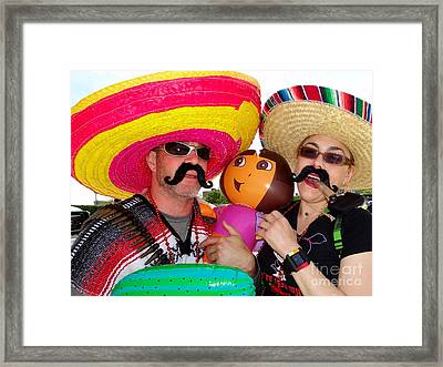 Family Outing Framed Print by Ed Weidman