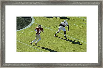 Famous Jameis Framed Print by Paul  Wilford