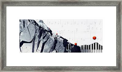 Fantasia - Piano Art By Sharon Cummings Framed Print