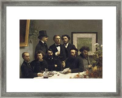 Fantin-latour, Henri-th�odore Framed Print by Everett