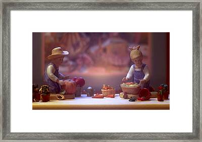 Farmstand 2 Framed Print by JP Design