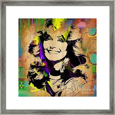 Farrah Fawcett Collection Framed Print by Marvin Blaine