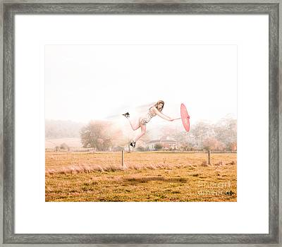 Fashion Storm Framed Print by Jorgo Photography - Wall Art Gallery