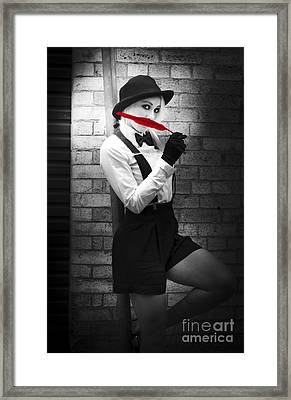 Fashion Trends - Red Is The New Black Framed Print by Jorgo Photography - Wall Art Gallery
