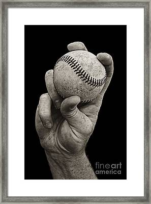 Fastball Framed Print