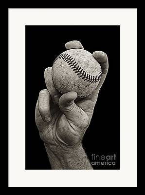 Baseballs Framed Prints