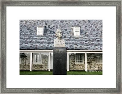 Fdr Presidential Library Framed Print by John Greim