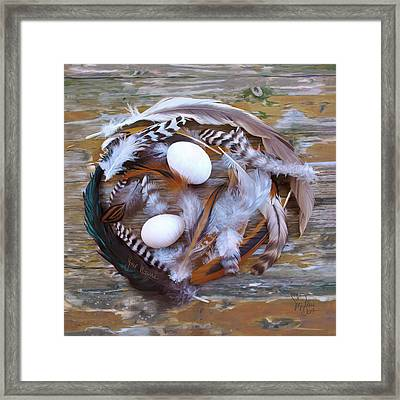 1. Feather Wrath Example Framed Print