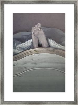 Feet Framed Print by Joana Kruse