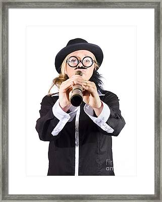 Female Explorer  Framed Print by Jorgo Photography - Wall Art Gallery