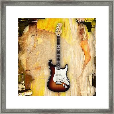 Fender Stratocaster Collection Framed Print