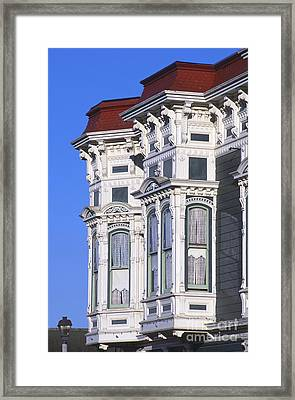 Ferndale Framed Print by Chris Selby