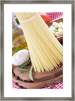Feta Cheese Framed Print by Mythja  Photography