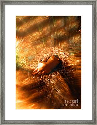 Fetal Nude Abstract Framed Print