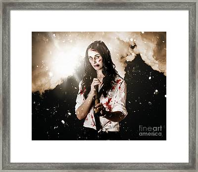 Fighting Spirit Framed Print by Jorgo Photography - Wall Art Gallery