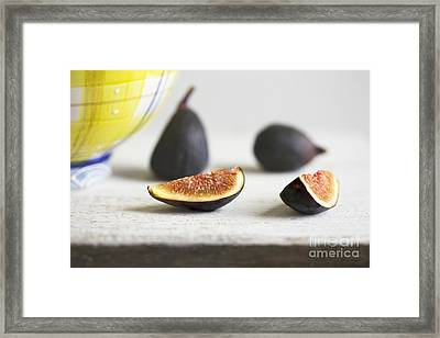Figs Framed Print by Elena Nosyreva