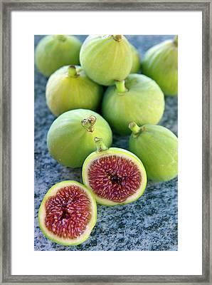 Figs (ficus Carica Framed Print by Nico Tondini