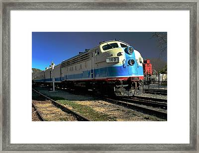 Framed Print featuring the photograph Fillmore 100 by Michael Gordon