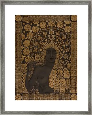 Fin-de-siecle Goddess Framed Print