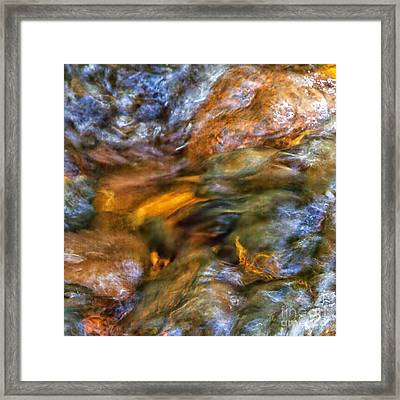 Holy Waters Of Sedona Az By Joanne Bartone Framed Print
