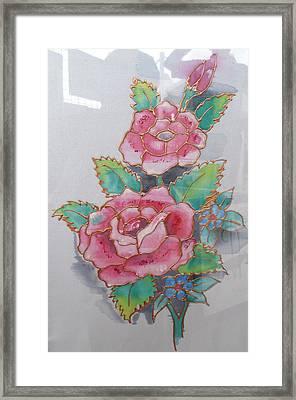 Fine Art Rose Framed Print