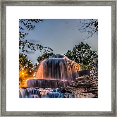 Framed Print featuring the photograph Finlay Park by Rob Sellers