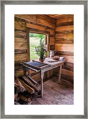 Simply Framed Print by Anthony Heflin