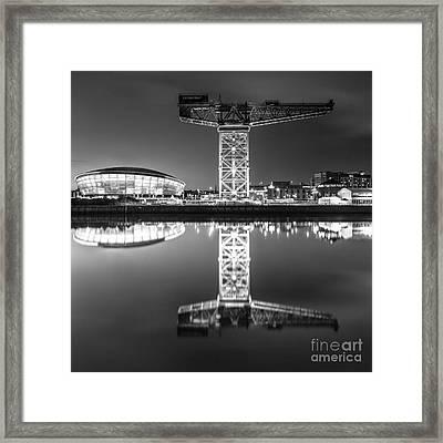 Finnieston Crane Framed Print by John Farnan
