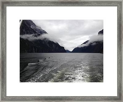 Fiordlands Framed Print by Ron Torborg