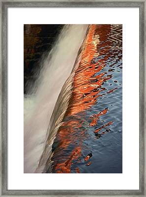 Fire And Water Framed Print by Bruce Thompson