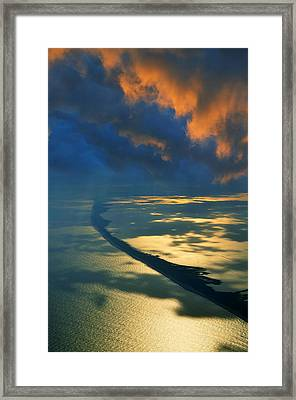 Fire Island  Framed Print by Laura Fasulo
