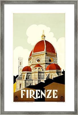 Firenza Framed Print