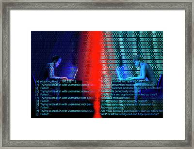 Firewall  Framed Print