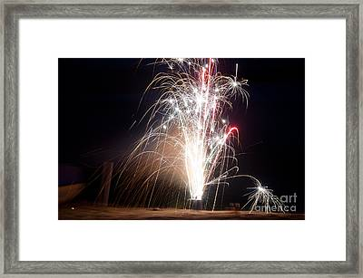 Fireworks 9 Framed Print by Cassie Marie Photography