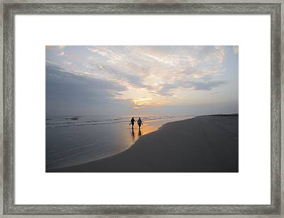 First Light Framed Print by Bill Cannon