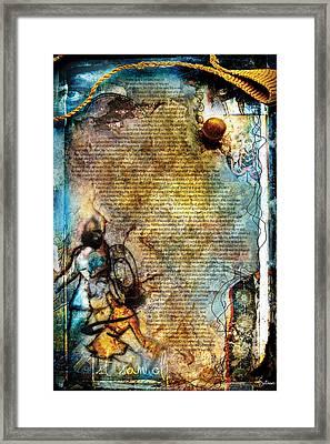 First Samuel 1 Framed Print