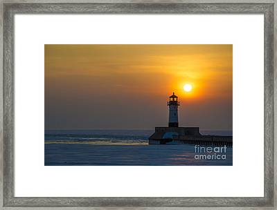 First Sunrise Framed Print by Ronny Purba