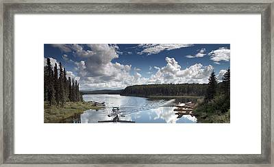 Fish Lake In Talkeetna Framed Print by Mountain Dreams