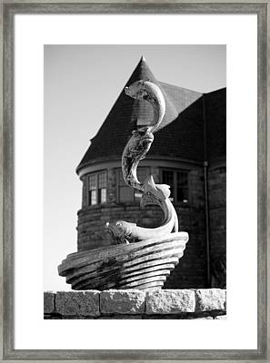 fish of the sea II  Framed Print by Anne Babineau
