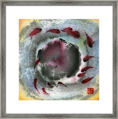 Fish Framed Print by Ping Yan