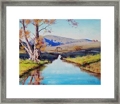 Fish River Tarana Framed Print