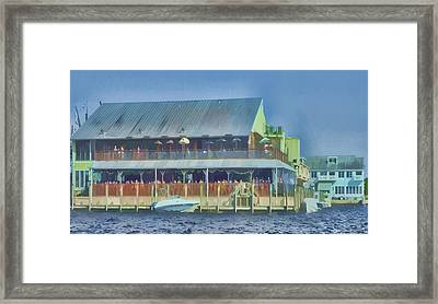 Fisherman's Village Framed Print